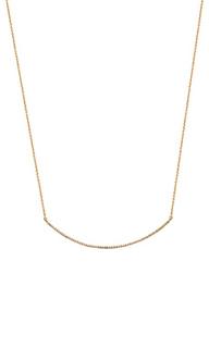 Micro curve necklace - Sachi