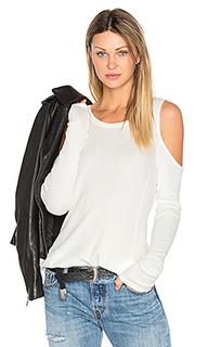 Modal thermal cold shoulder top - Bobi