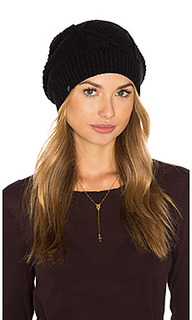 Diamond cable knit beanie - Plush