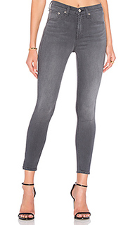Side slit crop skinny - rag & bone/JEAN