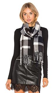 Ultra soft fleece plaid scarf - Plush