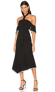 Миди-платье на шлейках courtside - Rebecca Vallance