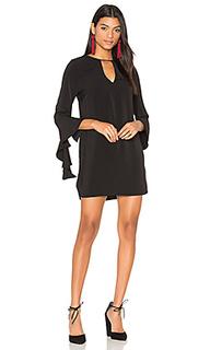 Платье с длинным рукавом spelt out - C/MEO
