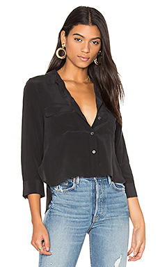 Cropped signature button up - Equipment