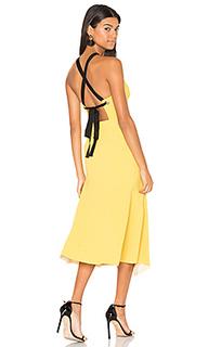 Breakers plunge apron dress - Rebecca Vallance