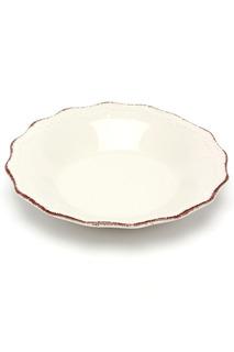 Тарелка суповая Айвори 21 см H&H H&H