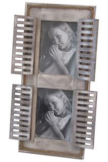 Фоторамка на 2 фото 48x21 Davana