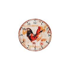 """Часы настенные """"Петушок"""", диаметр 34 см Белоснежка"""