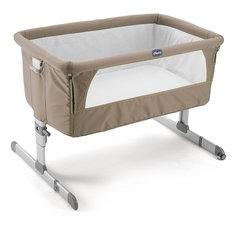 Функциональная кроватка Next2me, Dove Grey, Chicco