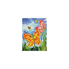 "Мозаика на подрамнике ""Бабочки"" Белоснежка"
