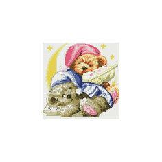 "Мозаика на подрамнике ""Два медвежонка"" Белоснежка"