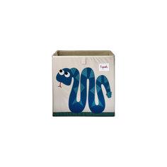 Коробка для хранения Змейка (Blue Snake), 3 Sprouts