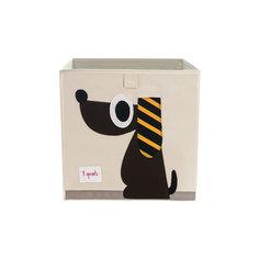 Коробка для хранения Собачка (Brown Dog), 3 Sprouts
