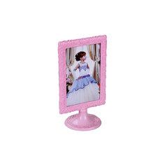 "Рамка д\фото, Alternativa, 10х15 ""Ажур"" вертикаль., Alternativa, розовый"