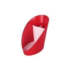 """Подставка для моющих средств """"Изыск"""" , Alternativa, красный"""