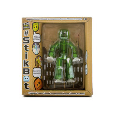 Игрушка-фигурка, зеленая, Stikbot