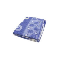 Байковое одеяло 110х118 см. (жаккард), Топотушки, фиолетовый Ермолино