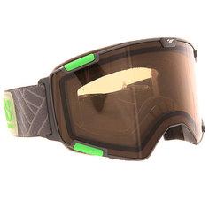Маска для сноуборда I/S Eyewear Crew Nw Icon Matte Charcoal Geo Emerald Bronze