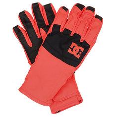 Перчатки сноубордические женские DC Seger Fiery Coral