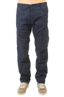 Штаны прямые Carhartt Wip Aviation Pant Navy Rinsed