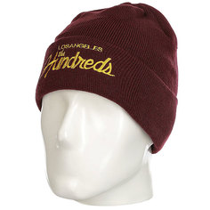 Шапка The Hundreds Team Beanie Burgundy