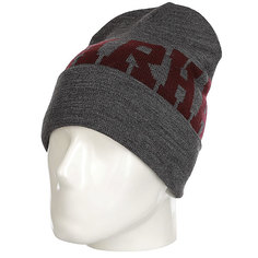 Шапка Carhartt Wip College Beanie Ash Heather/Chianti