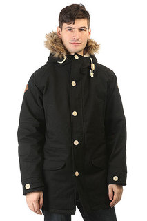 Куртка парка Запорожец Ditch Parka Black