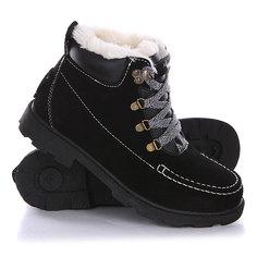 Ботинки зимние женские Roxy Greta J Boot Black