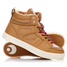 Кеды кроссовки утепленные Osiris Raider Brown
