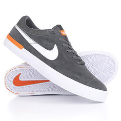 Кеды кроссовки низкие Nike Koston Hypervulc Anthracite White Clay Orange