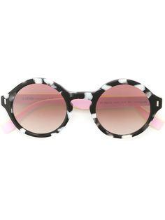 солнцезащитные очки в круглой оправе Fendi