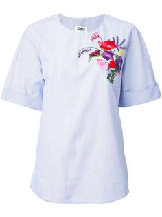 floral embroidery T-shirt Sonia By Sonia Rykiel