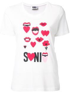 logo print T-shirt Sonia By Sonia Rykiel
