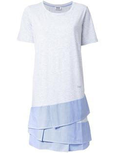 layered T-shirt dress Sonia By Sonia Rykiel