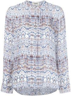 блузка с абстрактным принтом  L'agence
