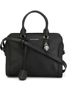 маленькая сумка-тоут 'Padlock'  Alexander McQueen