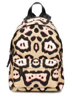рюкзак с леопардовым принтом Givenchy