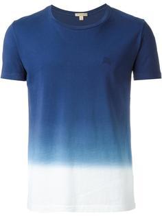футболка с тонально-градиентным эффектом  Burberry