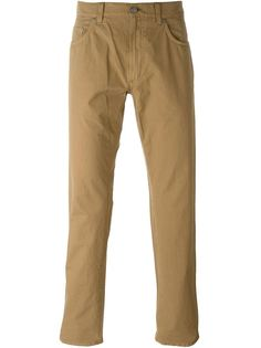 брюки дизайна пяти карманов Salvatore Ferragamo