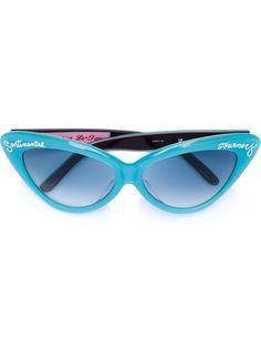 солнцезащитные очки в оправе 'кошачий глаз' Linda Farrow