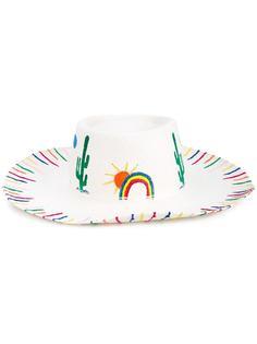 шляпа с принтом пустыни Mira Mikati