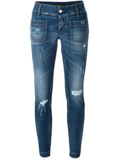 джинсы кроя слим  Dolce & Gabbana