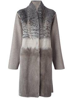 меховое пальто Manzoni 24