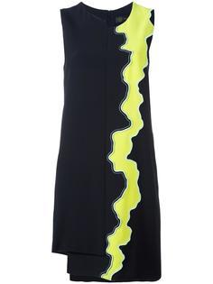 асимметричное платье 'Runway' Versace