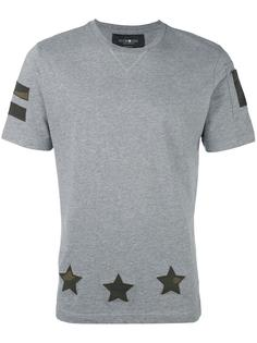 футболка с принтом звезд Hydrogen