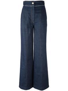 широкие джинсы  Lanvin