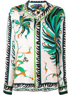 блузка в пижамном стиле Emilio Pucci