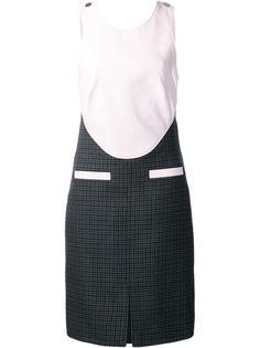 платье с перекрещенными лямками сзади Courrèges