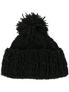 шапка-бини с помпоном  Ca4la