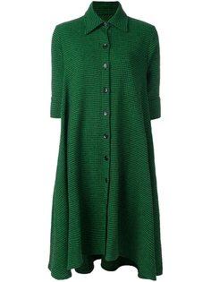 платье-рубашка с узором-елочкой Ultràchic